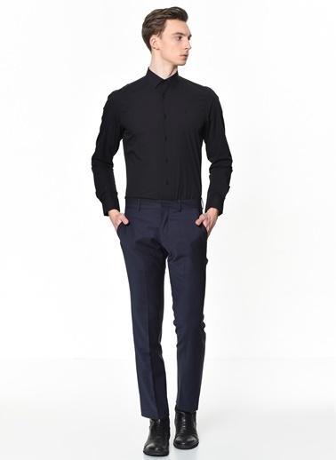 Altınyıldız Classics Tailored Slim Fit Klasik Gömlek 4A2000000001 Siyah